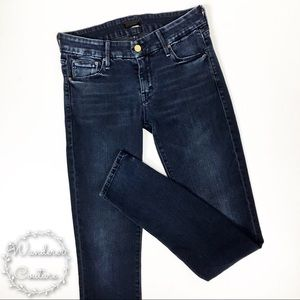 Mother The Looker Grand Sophie Skinny Jeans